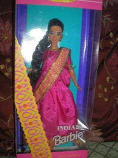 Barbie Dolls of the World Collector Edition INDIAN BARBIE NRFB #Mattel #DollswithClothingAccessories