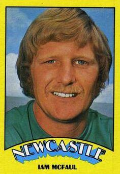 1974-75 A&BC Gum #45 Iam McFaul Front