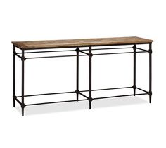 "Parquet Console Table | Pottery Barn 70.75"" wide, 19.75 inch deep, 33.5 high"