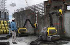 PINIweb.com.br |Robô que recicla concreto cria nova forma de demolição de edifícios| Construção Civil, Engenharia Civil, Arquitetura