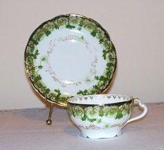 Vintage Rosenthal Porcelain Tea Cup and by SuesAntiqWonderland