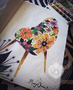 """Eames Chair """"Flower"""""""