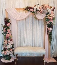 Pink Paisley Decor on Rustic florals decoracin romantic Wedding Stage Decorations, Wedding Stage Backdrop, Wedding Backdrop Design, Desi Wedding Decor, Engagement Decorations, Backdrop Decorations, Balloon Decorations, Wedding Stage Design, Quince Decorations