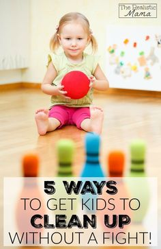 Get Kids Cleaning Up Without the Fight! #sp