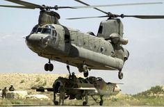 Afghanistan War - CH-47 Chinook Helicopter