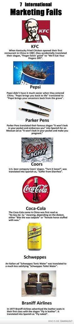 Brand Translations Gone Wrong