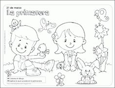 Worksheet about autumn for kids from Pipo's blog #coloring