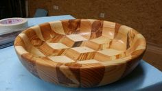3D Holzschlüssel Serving Bowls, 3d, Tableware, Mixing Bowls, Dinnerware, Bowls, Dishes, Place Settings