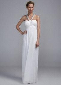 Wedding Dresses and Bridal Gowns Under $100 - David's Bridal   Just some ideas to remember.  We don't have to spend 1000 on a dress.  It can be done.