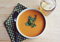 Proof That Sweet Potato Recipes Are A Thanksgiving Necessity Spicy Chipotle Sweet Potato Soup Recipe by A Beautiful Mess Spicy Sweet Potato Soup, Sweet Potato Recipes, Soup Recipes, Vegetarian Recipes, Chipotle Recipes, Homemade Chipotle, Recipies, Tasty, Yummy Food