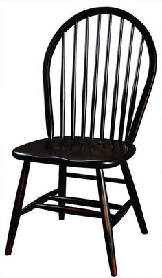 Amish 8-Spindle Chair Perfect Windsor style in solid brown maple wood. Brown maple is a wood that's easy to stain, paint or add distressing to. How will you fashion your custom made Windsors?