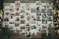 Painel de fotos para casamrnto via lapis de noiva