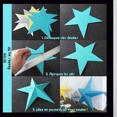〰〰〰〰 Вот так можно сотворить звезды о которых я говорила сегодня. 〰〰〰〰〰
