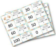 Voici un récapitulatif (hors situations de découverte) des jeux que j'ai fabriqués en mathématiques pour mes CE1: – Ajouter ou retrancher 1 Jeu de l'oie ajouter ou retrancher 1 … 30, Periodic Table, Notebook, Bullet Journal, Ajouter, School, Voici, Dominos, Cycle