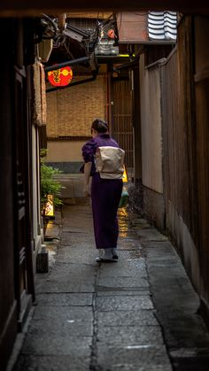 A hidden alley in Gion