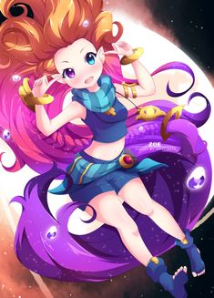 Zoe - League Of Legends by Inkspirate
