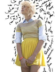 shirt and yellow
