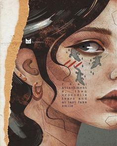 Pretty Art, Cute Art, Pix Art, Japon Illustration, Fantasy Illustration, Arte Sketchbook, Art Series, Portrait Art, Digital Portrait