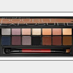 Double exposure shadow palette (wet to dry) New in box never opened!!!  Think of it as the palette of possibilities. With shadows that transform when activated with water, our latest innovation is all about mixing it up. Each shadow changes in one of four ways when wet?amps up vibrancy, gets deeper, turns metallic or adds sparkle?so the possibilities really are endless. Go ahead. Experiment. Who do you want to be? Whether you?re feeling demure or dramatic or something else entirely…