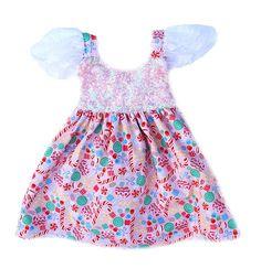 Candyland Sparkle Dress Swing Dress READY TO SHIP.                                              #bellethreadspinterest