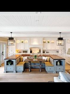 kitchen as The Gathering Place of the home, where everyone congregates…