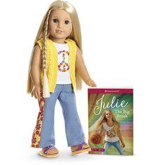 American Girl Julie/'s Pop-Up Play Scenes /& Paper Dolls NIB and NRFB
