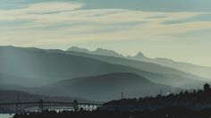 Mountain Forest - With the Ironworkers Memorial Bridge in the foreground on this…