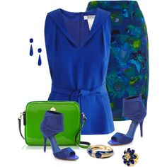 """Amrita Singh Jewelry And Brian Atwood Shoes"" by sherryvl on Polyvore"