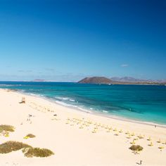 Fuerteventura boasts some of the finest beaches in the world, let alone Europe. Welcome to paradise. You'll pinch yourselves in disbelief.