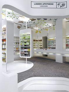 225 Linden Apotheke Interior Design by Ippolito Fleitz Group.....