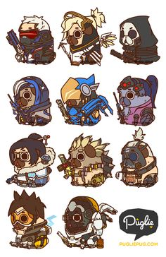 Puglie Overwatch Series 1 You know, the world could always use more heroes :]