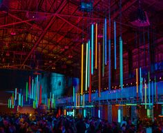 Dreamforce 2015 Lighting Design by Got Light - Pier 70 Concert with Foo Fighters & The Killers in support of UCSF Benioff Children's Hospital in San Francisco