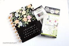 """Why planning? In this post I tell you my motivation for planning and how """"Happy Panning"""" became my new hobbie. Pink Planner, Happy Planner, Planner Brands, Types Of Planners, Organize Your Life, New Hobbies, Sticky Notes, You And I, Told You So"""