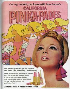 Vintage ad Max Factor