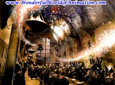 Making a Great Exit Other Studios giclee on canvas Animation Art giclee on canvas of Fred & George Weasley From Other Studios