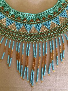 Your place to buy and sell all things handmade Hard Working Women, Working Woman, Huichol Art, Jewlery, Mexico, Artisan, Chokers, Chic, How To Make