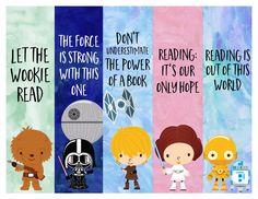 - Printable Star Wars - Ideas of Printable Star Wars - FREE Star Wars Printable Bookmarks! Disney Bookmarks, Free Printable Bookmarks, Creative Bookmarks, Printable Star, Bookmarks Kids, Reading Bookmarks, Star Wars Quotes, Star Wars Humor, Libros Star Wars