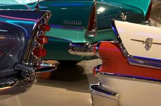 50's cars with fins