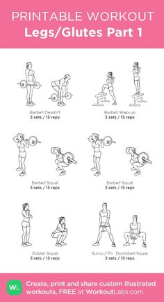 Legs/Glutes Part 1 · WorkoutLabs Fit