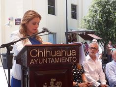 <p>Chihuahua, Chih.- La presidenta Municipal, Maru Campos Galván, mencionó que el Corredor Escultórico es para los chihuahuenses y serán