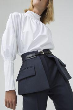 Navy Mini Skirt Belt - Pre-order : Pre-fall 18 - Shop