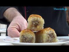 Δείτε πως να κάνετε Γιαννιώτικο Κανταΐφι συνταγή βήμα βήμα και βίντεο Muffin, Bread, Cooking, Breakfast, Desserts, Youtube, Food, Greek Recipes, Kitchen