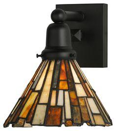 """Meyda Tiffany 145861 Jadestone Delta Tiffany 9.5"""" Tall Mini Hanging Pendant Lighting - MEY-145861"""