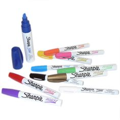 Pens & Markers: Sharpie Paint Markers @ Takapuna Art Supplies - more expensive than B unnings!