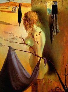 (104) Salvador Dalí - A Laura Elena Nombras el árbol, niña. Y el árbol...