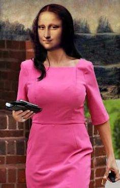 Mona Lisa Business Woman