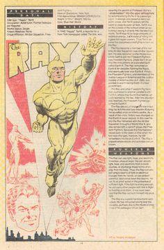 Rayo (ficha dc comics)