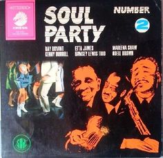 Various ‎- Soul Party Number 2 GER 1968 Lp mint--