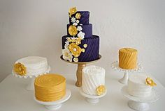 Cake display table