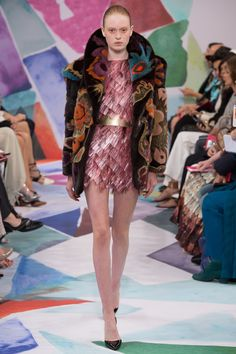 Schiaparelli Fall 2016 Couture Fashion Show - Emmy Kruger